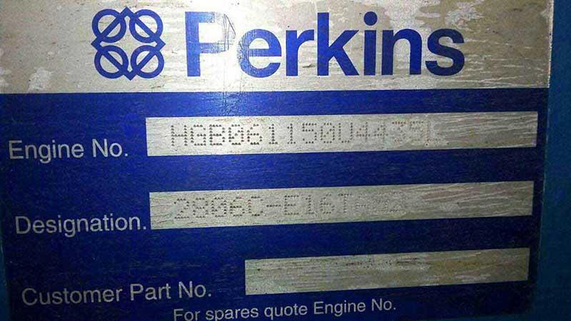 شناسایی شماره سریال موتور