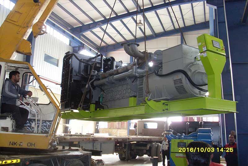پروژه دیزل ژنراتور 900 کیلو ولت آمپر